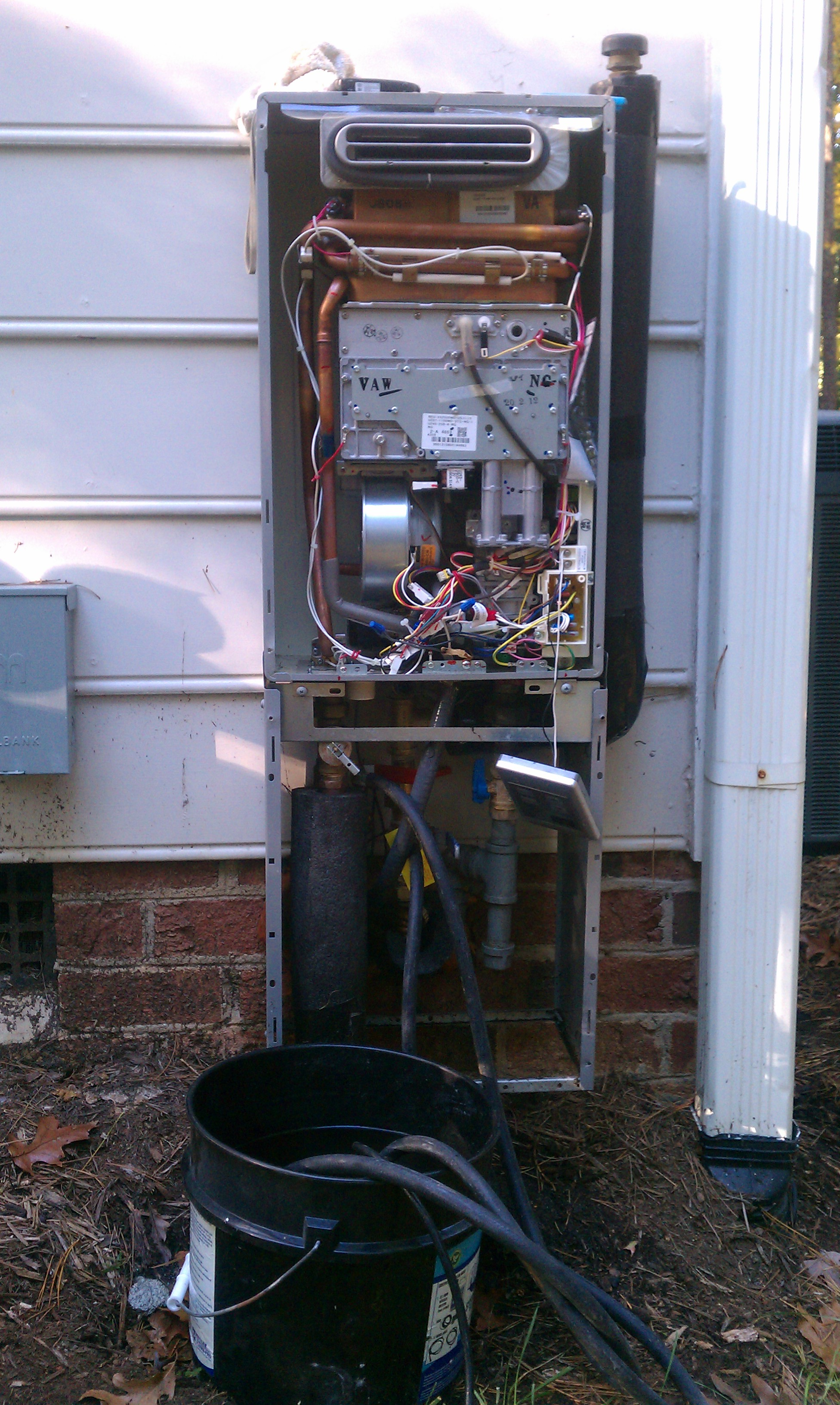 raleigh tankless water heater repair