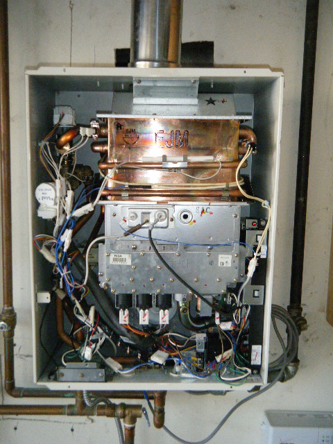 cary rinnair repair tankless